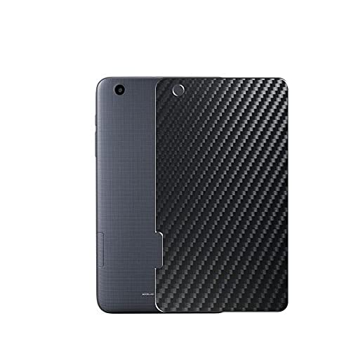 VacFun 2 Piezas Protector de pantalla Posterior, compatible con ZTE ZPad 8 8', Película de Trasera de Fibra de carbono negra Skin Piel