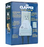 Clapper Sound Activated On/Off Light Switch, Clap Detection The Clapper for Kitchen/Bedroom/TV/Appliances, 110 V Wall Plug, 2 Devices Switch Control, As Seen On TV Household Gift