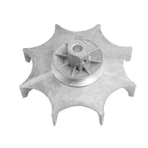 Aexit 10mm bohrloch Durchmesser Aluminiumlegierung Gebläse Rad Silber Ton (0c92ae3ae97c4939cef55d4b9388ed24)