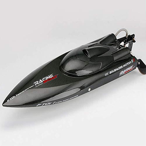 FATSW High Speed Kohlefaser Ferngesteuertes Boot RC Boot, 65KM/H Wasserkühlung 2,4 GHz Funkfernsteuerung für Wettbewerb Erwachsene & Kinder für Pool & Outdoor