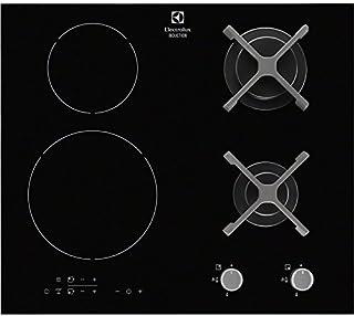 Electrolux - EGD6576NOK - Tables de Cuisson Mixte Gaz et Induction