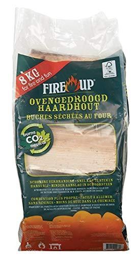 Fire-Up legna da ardere essiccata in forno, 8 kg