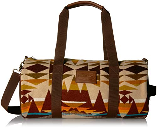 Pendleton Men's Round Gym Duffle Bag, Crescent Butte, ONE SIZE