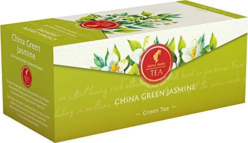 Julius Meinl China Green Jasmine, Grüner Tee mit Jasmin - 6x 25 Beutel