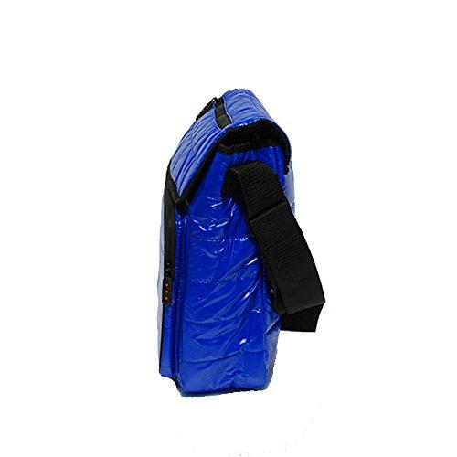 スクーター ショルダーバッグ メッセンジャー ナイロン ブルー MT3-811-BU