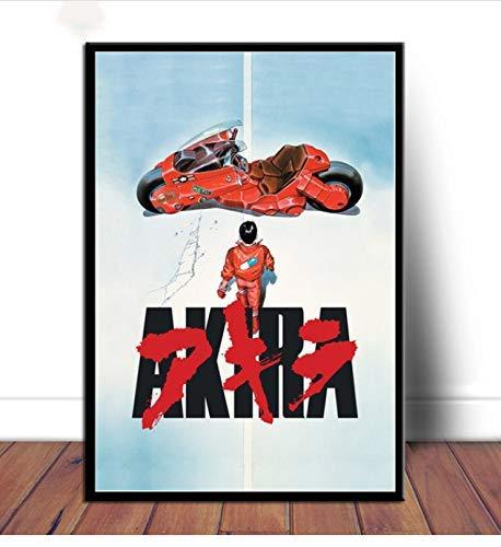 shuimanjinshan Póster e Impresiones Akira Red Fighting Japón Anime Comic película Lienzo...