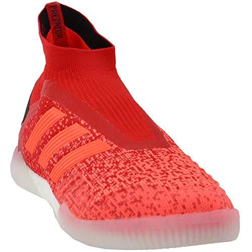 adidas Predator 19+ Turf Shoe - Mens Soccer 13.5 Action Red/Solar Red/Black