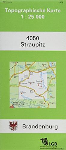 Straupitz (Topographische Karten ATKIS 1:25000 (TK25-A-) Land Brandenburg (amtlich))