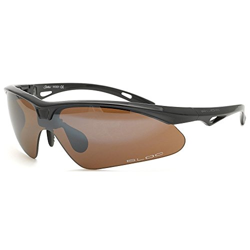 Bloc Eyewear Shadow Sport-Sonnenbrille, Grau, One Size