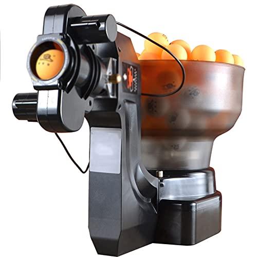 Máquina Robot De Ping Pong con 36 Bolas Giratorias Diferentes Robots De Tenis De Mesa Máquina Automática De Bolas para Entrenamiento