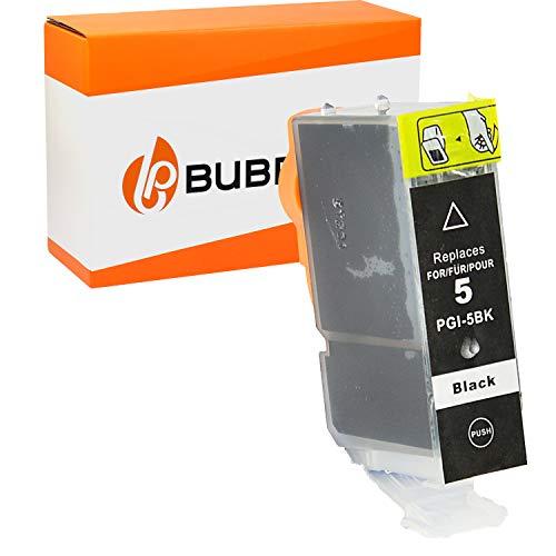 Bubprint Kompatibel Druckerpatrone als Ersatz für Canon PGI-5BK für Pixma IP3300 IP3500 IP4200 IP4300 IP4500 IP5200 IX4000 MP510 MP600 MP610 MP970 MX700 Schwarz
