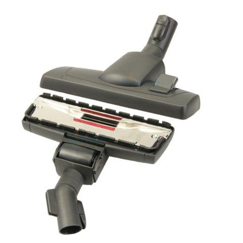 Bodendüse für Miele Serie S8 - S 8000 (S8330 / S8340 / S8390 / .) umschaltbar mit Einrast- und Parkvorrichtung von Microsafe®