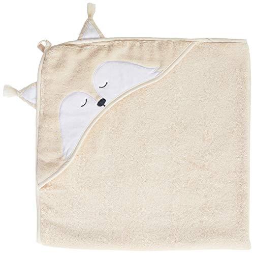 pippi Organic Bath Robe Cache-Maillot de Bain, Sand Shell, 83X83 Mixte bébé