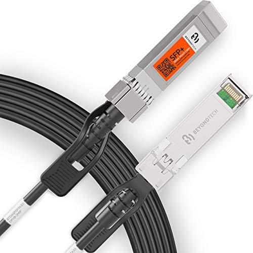 Beyondtech SFP+ Direct Attach-Kabel (30 AWG, Twinax LSZH, 2 m, 10 GB, Ethernet-Switch, Netzwerkkabel, SFP, DAC)