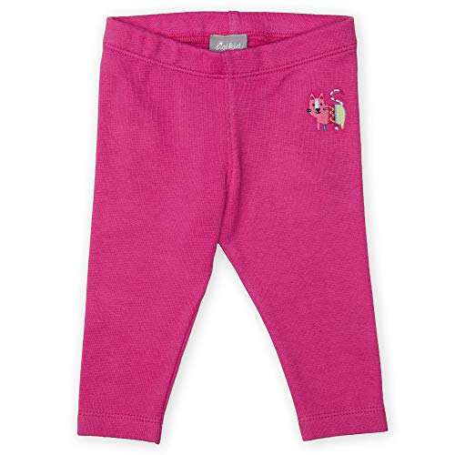 Sigikid Baby - Mädchen Leggings Leggings,, per pack Rosa (pink 682), 92 (Herstellergröße: 92)