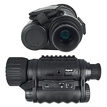 Bestguarder 6x50mm HD Digital Night Vision Monocular with 1.5 inch TFT LCD and Camera & Camcorder Function Takes 5mp Photo & 720p Video from 350m Distance for Night Watching or Observation …