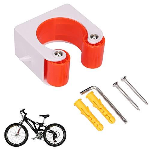 FANHAN Fahrrad-Clips, zur Wandmontage, Fahrrad-Park-Schnalle für Räder, Fahrrad-Gepäckträger, Aufbewahrung von Fahrrad-Gepäckträgern, Fahrrad-Halterungen und Ständer, Rennrad-Clip mit Schrauben
