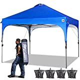 ABCCANOPY Canopy Tent 10x10 Pop Up Canopy Outdoor Canopies Super Comapct Canopy Portable Tent Popup...