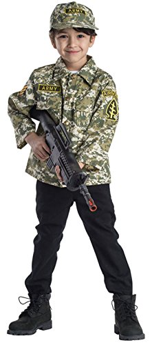 Dress Up America kinderen leger authentiek military forces rollenspel set kostuum leeftijd 3-6