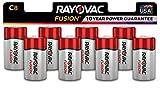Best C Batteries - Rayovac Fusion C Batteries, Premium Alkaline C Cell Review