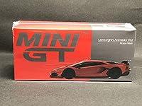 在庫あり MINI GT 1/64 ランボルギーニ アヴェンタドール SVJ ロッソマーズ 198 レッド 赤 未開封