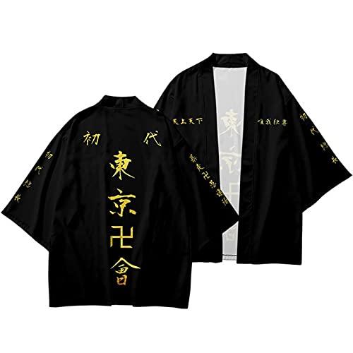 To-kyo Reven-gers Cosplay capa Anime Hanagaki Takemichi K-en Ryuguji Haori Kimono Cardigan Draken Mikey Cosplay Disfraz prendas de vestir