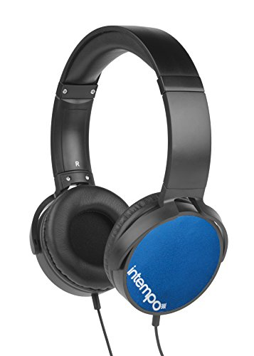 Intempo EE1264BLU Dynamic Kopfhörer, Blau
