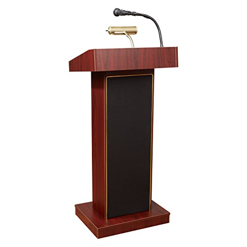 Oklahoma Sound 800x-MY Orator Floor Sound Lectern, 22