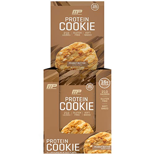 Musclepharm: Protein Cookies 12 Pack Peanut Butter