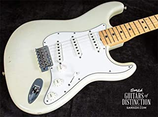 Fender Custom Shop Jimi Hendrix Stratocaster Electric Guitar Aged Olympic White