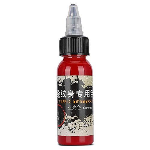 30 ml d'encre de tatouage mat imperméable à l'eau tatouage pigment coloré dessin pigment pigment tatouage encre noir ensemble(02)