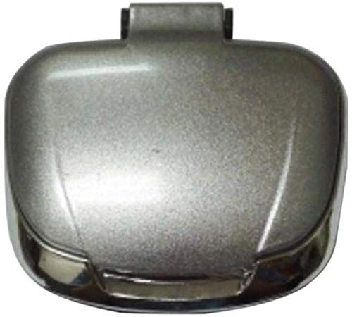 AMITD, draagbare mini-auto-asbak met deksel, blauwe LED-display, rookvrij, winddicht, sigarettenpunt accessoires