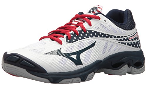 Mizuno Wave Lightning Z4 Womens Stars & Stripes 9.5 Stars&Stripes