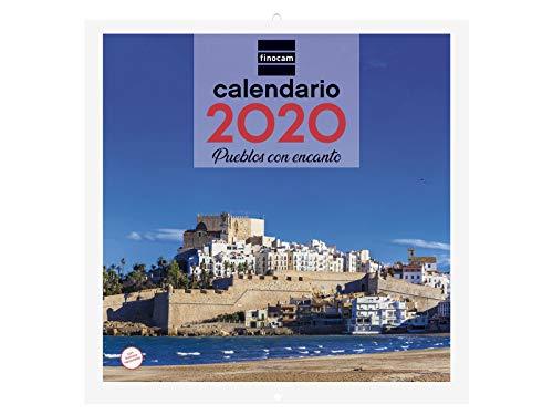 Finocam - Calendario de pared 2020 Imágenes 30x30 Pueblos con Encanto español