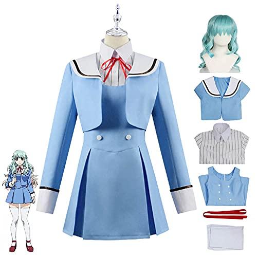 Disfraz de Cosplay de invasin de gran altura, traje de Kuon Shinzaki, uniforme escolar de anime, traje de marinero, conjunto completo, vestido de fiesta de Carnaval de Halloween para mujeres