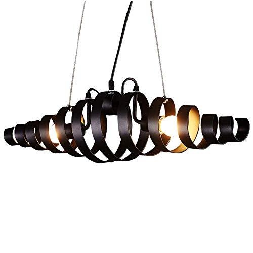 Nordic kroonluchter, hanglamp van metaal, minimalistisch, modern, café, bar, loft, creatief, decoratief, plafondlamp, design, lampenkap van glas, LED-lamp, voor restaurant, keuken, vitrine, hal