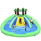 OTTARO Inflatable Bounce House Castle with Double Slide,...