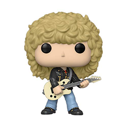 Funko- Pop Rocks-Def Leppard-Rick Savage Collectible Toy, Multicolor (40126)