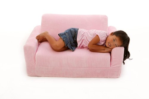 Fun Furnishings Sofa Sleeper, Pink