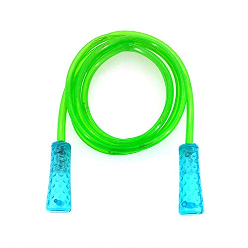 Huaheng Light Up Skipping Rope Multi Colour Glow Children Adults Fitness Outdoor Activity
