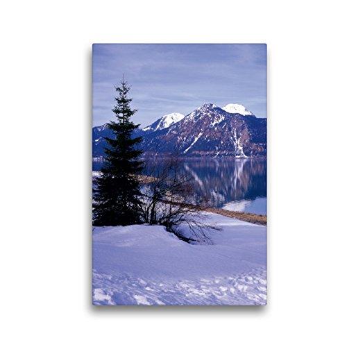 Calvendo Premium Lienzo de 30 cm x 45 cm de Alto, Lago de los Círculos en los Montes de los Cárdigones, Imagen sobre Bastidor, Listo para Lienzo auténtico, Impresión en Lienzo Natural
