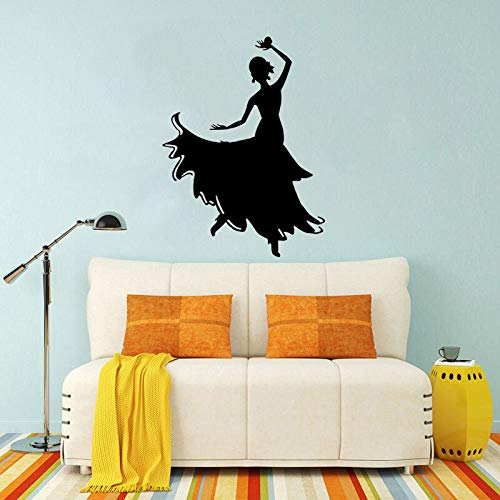 FPUYB 46CM*62.4CM Dance Gymnastics Wall Sticker Decor PVC Kitchen and Gym
