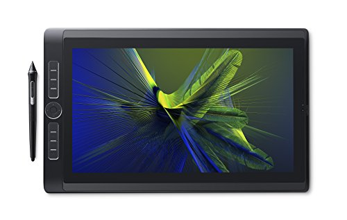 WACOM MobileStudio Pro Workstation / Tablet PC 15,6'' 256 GB / Alta Risoluzione 4K / Compatibile con Computer Windows & Mac OS / Penna Wacom Pro 2 inclusa / Colore nero