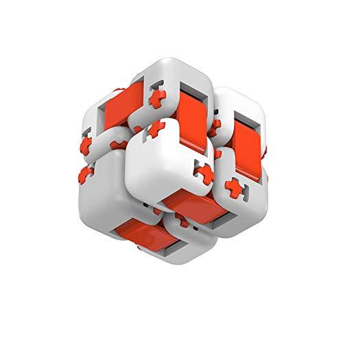 Modenny Spinner Cubo Dedo Ladrillos Juguetes Inteligentes Juguetes de Dedo Inteligentes Portátiles para Xiaomi Smart Home Regalo para Niños
