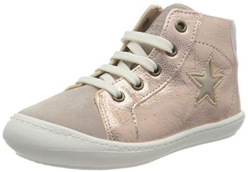 Bisgaard Unisex dziecięce buty sportowe Vilfred, różowe złoto - 25 EU
