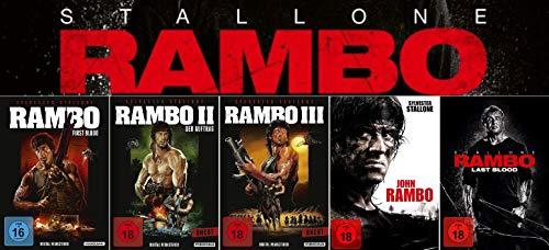 Rambo 1 - 5 John Rambo Collection (First Blood - Last Blood)