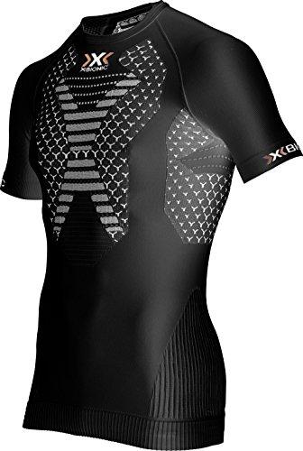 X-Bionic T-Shirt Running on twyce Ow SH SL. SS17 M Noir/Blanc