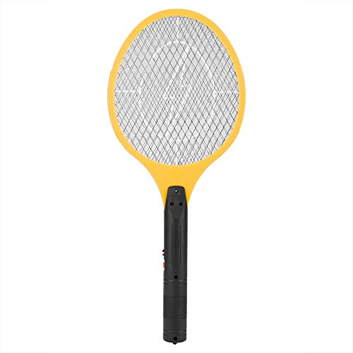 Longzhuo Fly Swatter Cordless Elettrico Ricaricabile Fly Mosquito Swatter Bug Zapper Racchetta Insetti Killer(Giallo)