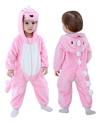 Pink Dinosaur Costume for Toddlers