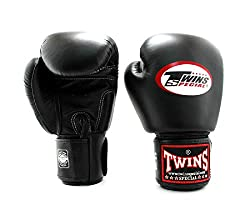 top rated Twin gloves for boxing training and sparring, Muethai, kickboxing, MMA (black, 8 oz) 2021